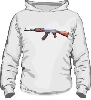 Bluza z kapturem Kalashnikov