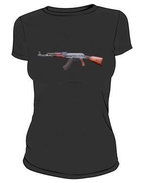 Koszulka damska Kalashnikov