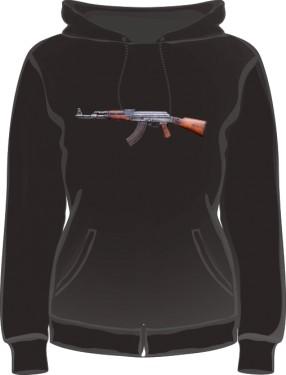 Bluza damska z kapturem Kalashnikov