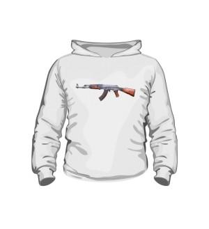 Bluza dziecięca z kapturem Kalashnikov