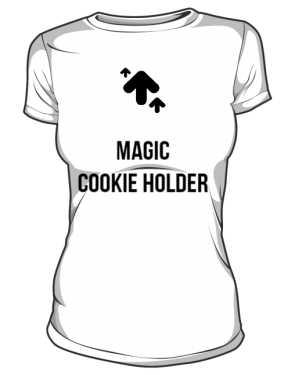 Damska koszulka Magic Cookie Holder