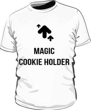 Męska koszulka Magic Cookie Holder