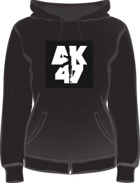 Bluza damska z kapturem AK 47