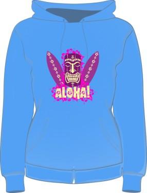 Bluza damska z kapturem Aloha Surf