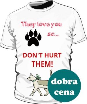 Koszulka stop animal cruelty