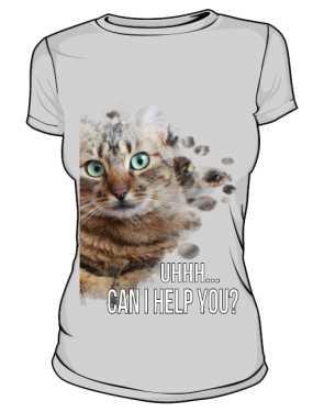 Damska koszulka HELP