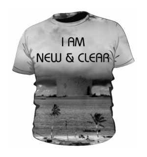 Męska koszulka NEW CLEAR