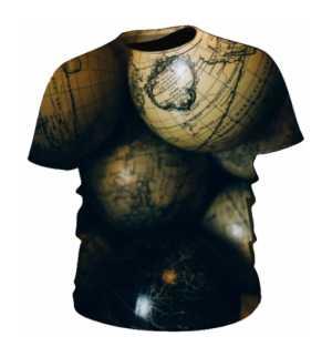 Męska koszulka GLOBES