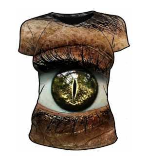 Damska koszulka CROCODILE EYE