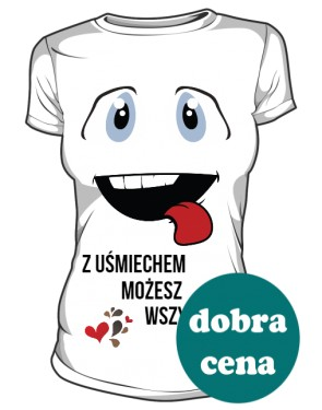 Koszulka Uśmiech