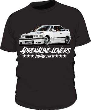 Koszulka BMW Adrenaline Lovers BLACK