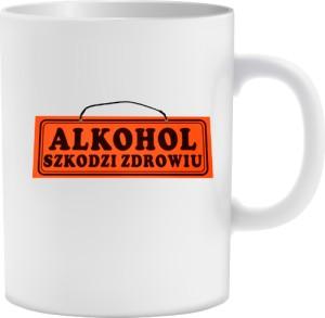Kubek Alkohol szkodzi