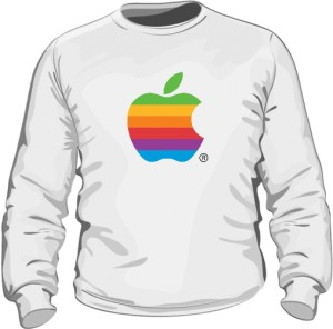 Bluza Apple color