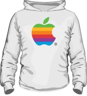 Bluza z kapturem Apple color