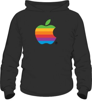 Bluza z kapturem Apple color