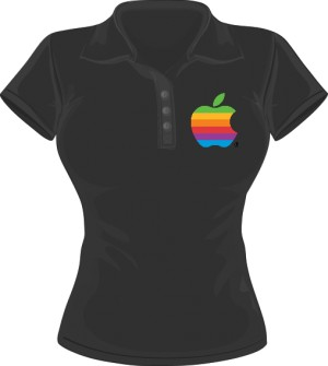 Polo damskie Apple color