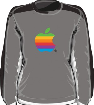 Bluza damska Apple color