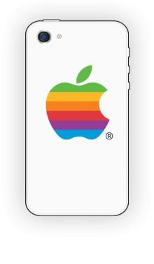 Etui białe IPhone 4 4s Apple color