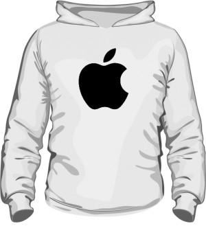 Bluza z kapturem Apple