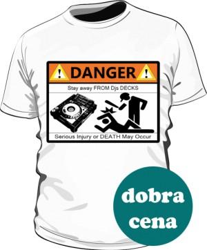 Koszulka Męska Biała Stay Away