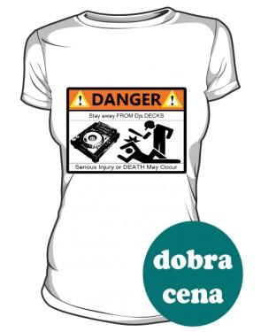 Koszulka Damska Biała Stay Away