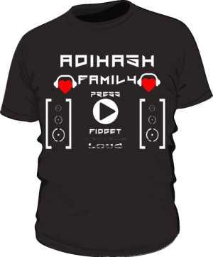 Koszulka męska AdiHash FAMILY