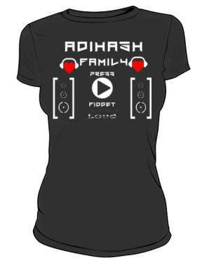 Koszulka damska AdiHash FAMILY
