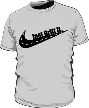 Koszulka Just Drift It Classic Grey