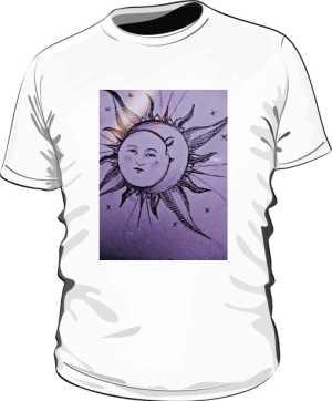 KOSZULKA SUN MOON