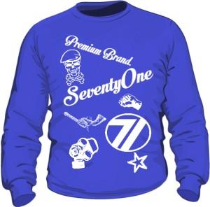 Bluza 71 Premium Crewneck Blue