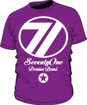 Koszulka 71 Premium Violet