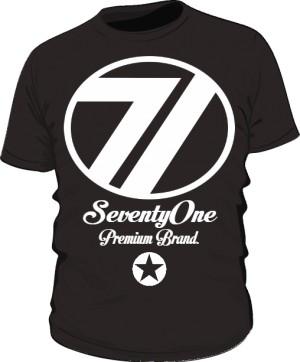 Koszulka 71 Premium Black