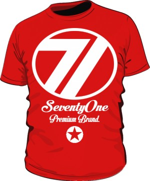 Koszulka 71 Premium Red