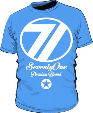 Koszulka 71 Premium Blue