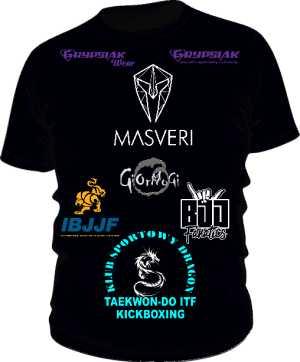 Koszulka Fightera BJJ