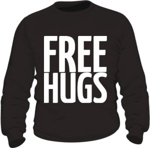Free Hugs Blouse Man