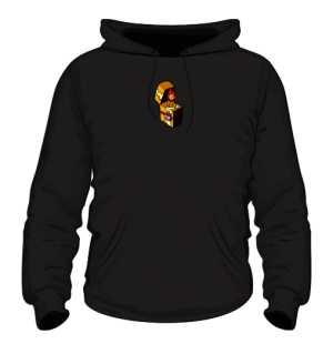 Bluza z Kapturem Black Logo SFB