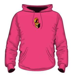 Bluza z Kapturem Pink Logo SFB
