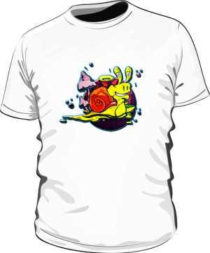 Koszulka wzór Ślimak by Dyl