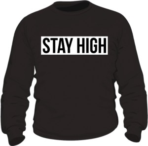 Stay High Black Blouse Man