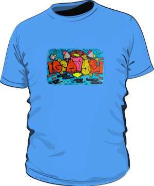 Koszulka  BASIC KOLOR MĘSKA by Dyl
