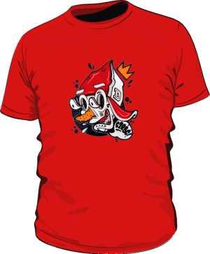 ACAB OST koszulka czerwona by Dyl