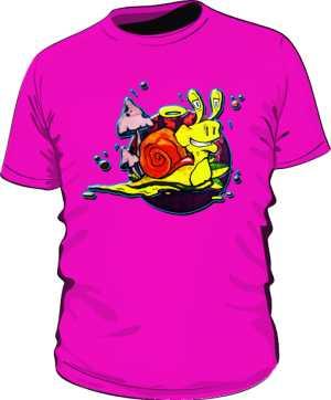 ŚLIMAK  koszulka  by Dyl