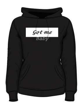Bluza rozpinana z kapturem Got Me Baby