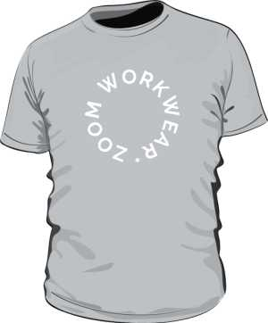 TEE HEALTHER GREY BY ZOOM WORK WEAR