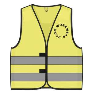 3M VEST NEON GREEN BY ZOOM WORK WEAR