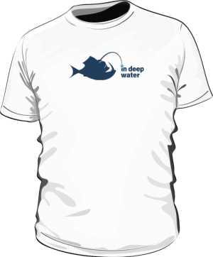 logo in deep water