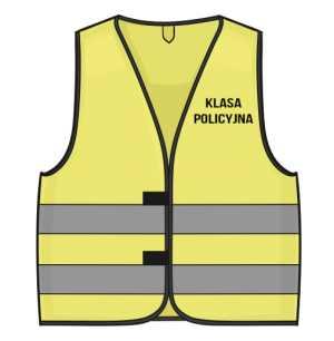 Kamizelka Odblaskowa KLASA POLICYJNA