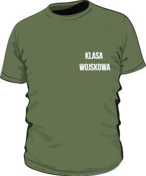 Koszulka Oliwkowa Klasa Wojskowa