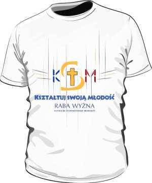 KSM Koszulka Biała